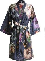 ESSENZA Fleur - Kimono - Blauw - Maat L