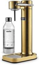 AARKE Carbonator II Sodamaker - Bruiswatertoestel - Roestvrijstaal - Geelkoper