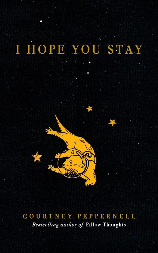 Boek cover I Hope You Stay van Courtney Peppernell (Onbekend)
