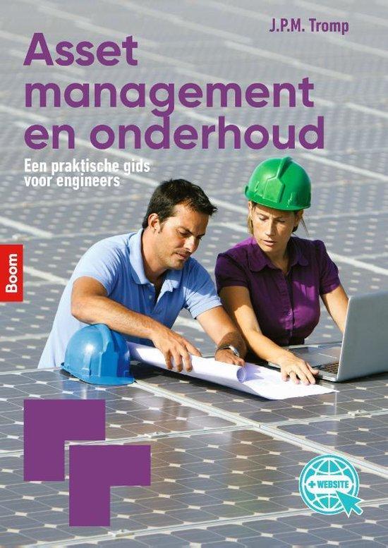 Boek cover Asset management en onderhoud van Jan Tromp (Paperback)