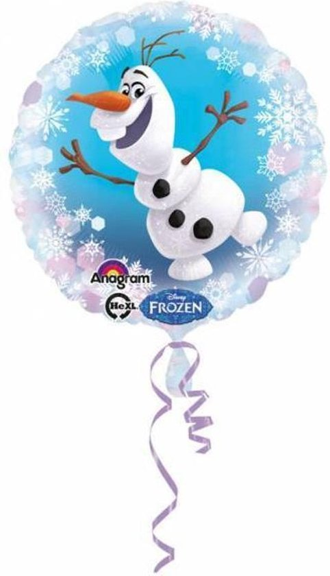 Frozen Helium Ballon Olaf 43cm leeg