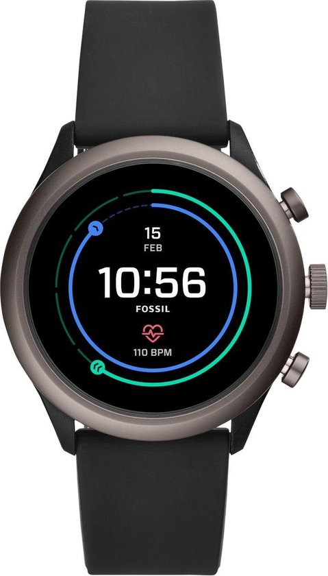Fossil Sport Gen 4S FTW4019 - Smartwatch - 43 mm - Zwart