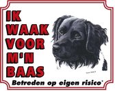 Friese Stabij Waakbord - Ik waak voor mijn baas
