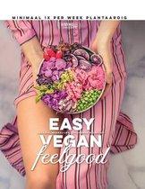 Boek cover Easy Vegan Feelgood van Living The Green Life (Onbekend)