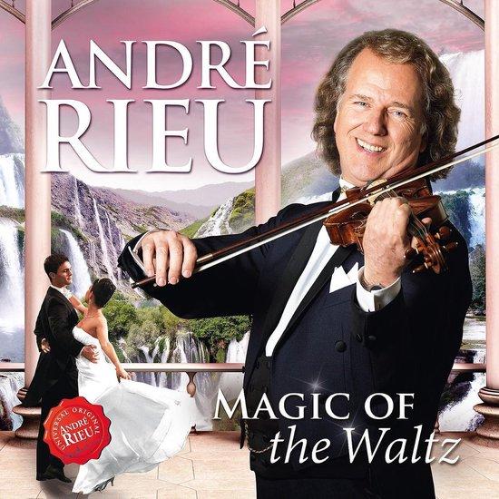 CD cover van Rieu Andre - Magic Of The Waltz van André Rieu