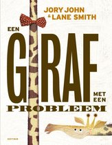 Een giraf met een probleem