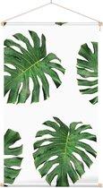 Textielposter Botanisch Bladpatroon 8 - 40 x 70 cm