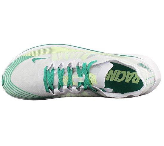 Nike Zoom Fly SP Heren Hardloopschoenen Sportschoenen Running Schoenen Wit Groen AJ9282 101 Maat EU 41 US 8