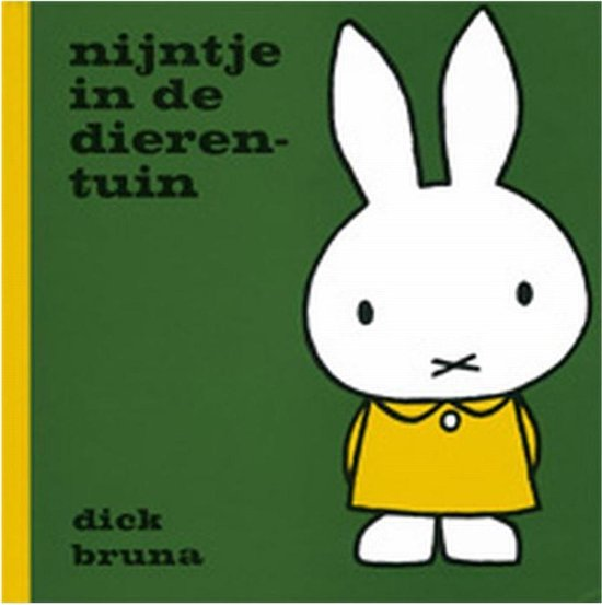 Boek cover Nijntje in de dierentuin van Dick Bruna (Hardcover)