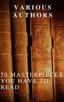 Boek cover 50 Masterpieces you have to read van Louisa May Alcott