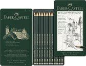 Afbeelding van Faber-Castell - Graphite pencil Castell 9000 Design set (119064) speelgoed