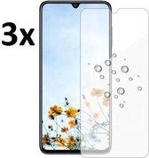 4mobilez set 3x Samsung A70 glass screenprotectors - 2.5D