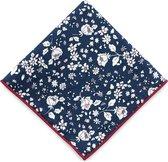 We Love Ties Pochet Oriental Blossom blauw