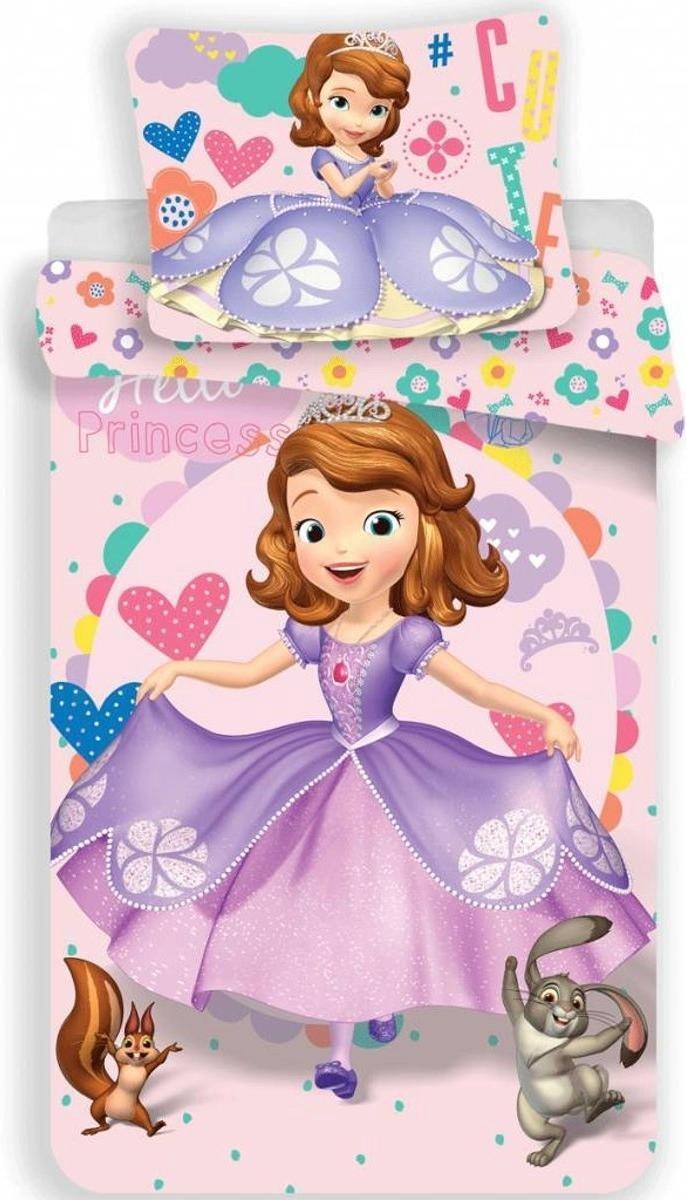 Dekbedovertrek-Disney Sofia The First Dress- Eenpersoons- 140x200 cm - Multi kopen