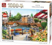 Afbeelding van King Puzzel 1000 Stukjes - Amsterdam