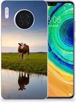 Huawei Mate 30 TPU Hoesje Koeien