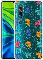 Xiaomi Mi Note 10 / Note 10 Pro Hoesje Happy Elephant