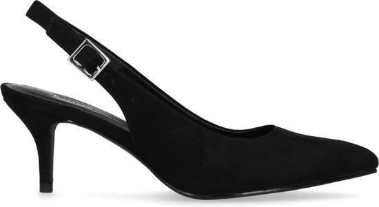 Zwarte pumps met open hiel Dames | MANFIELD