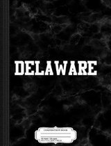 Delaware Composition Notebook