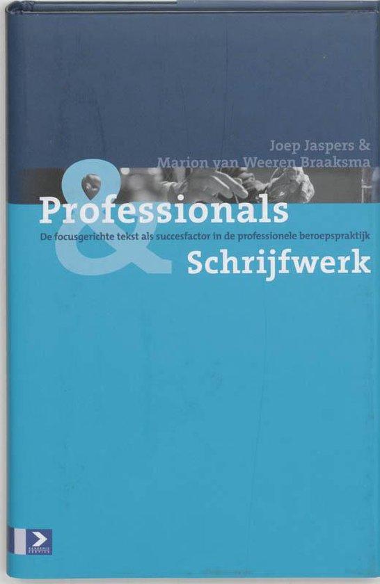 Professionals & Schrijfwerk - Joep Jaspers |