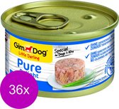 Gimdog Little Darling Pure Delight - Tonijn - Hondenvoer - 36 x 85 g