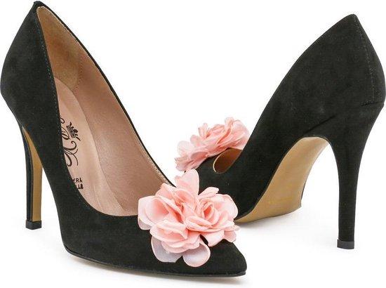Made in Italy - Heren Nette schoenen Isaie Nero - Zwart - Maat 40
