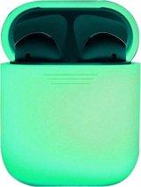 Siliconen Bescherm Hoesje Cover voor Apple AirPods 1 Case - Glow in the dark