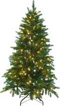 Kerstboom Excellent Trees® LED Falun Green 180 cm - Luxe uitvoering - 270 Lampjes