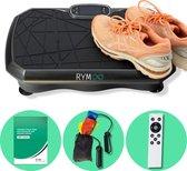 RYM®️ 2021 Fitness Trilplaat met Workoutschema - Powerplate - Met Bluetoothspeaker - Met Resistance Bands - En Afstandsbediening