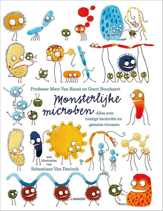 Boek cover Monsterlijke microben van Marc van Ranst (Hardcover)