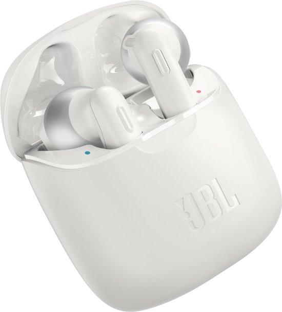 JBL Tune 220TWS - Volledig draadloze oordopjes- Wit