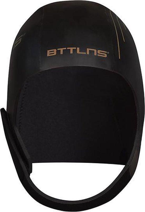 BTTLNS Neopreen Swim cap Khione 1.0 zwart/goud L
