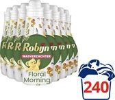 Bol.com-Robijn Floral Morning Wasverzachter - 8 x 30 wasbeurten - Voordeelverpakking-aanbieding