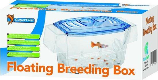 SuperFish Floating Breeding Box Opkweekbak - 17x8,5x8,5 cm - 1,2L