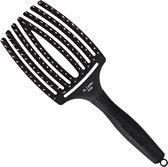Olivia Garden - FingerBrush - Combo Large - Haarborstel - Black