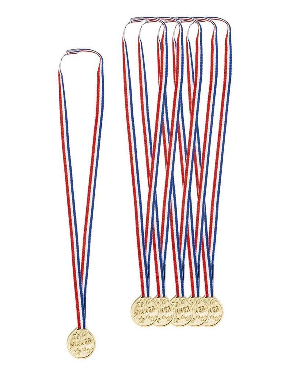 Boland Medailles Winner Junior Goud 6 Stuks