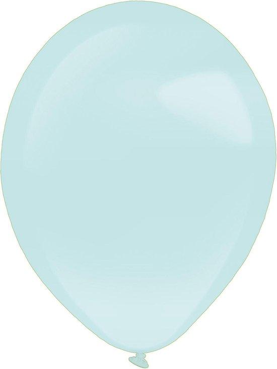 Amscan Ballonnen Pearl 12 Cm Latex Mintgroen 100 Stuks