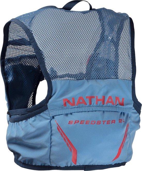 Nathan Vapor Speedster 2 Racevest Blauw Dames (inclusief softflask) | 2 Liter