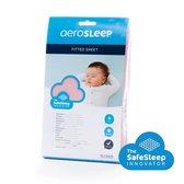 AeroSleep® SafeSleep hoeslaken - bed - 140 x 70cm - roze