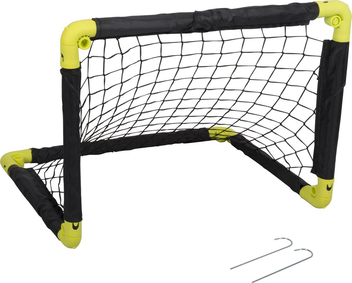 Dunlop Voetbaldoel - Voetbalgoal - Minigoal - Oefendoel - Opvouwbaar - 55x44x44cm