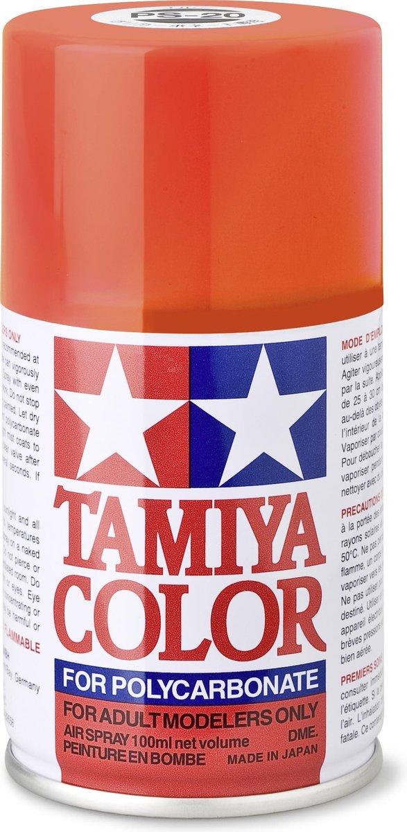 TAMIYA PS-20 Fluor rood (spuitbus 100ml)