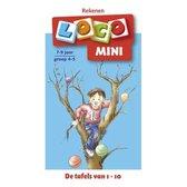Mini loco - Mini Loco Rekenspelletjes De tafels van 1-10 7-9 jaar