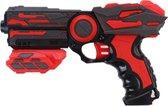 Tack Pro Shotgun Pro Shooter Ii Foam 23 Cm Zwart/rood