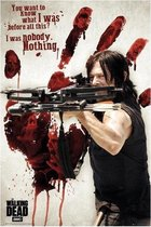 WALKING DEAD - Poster 61X91 - Bloody Hand Daryl
