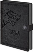Game of Thrones - Premium A5 Notitieboek - Stark