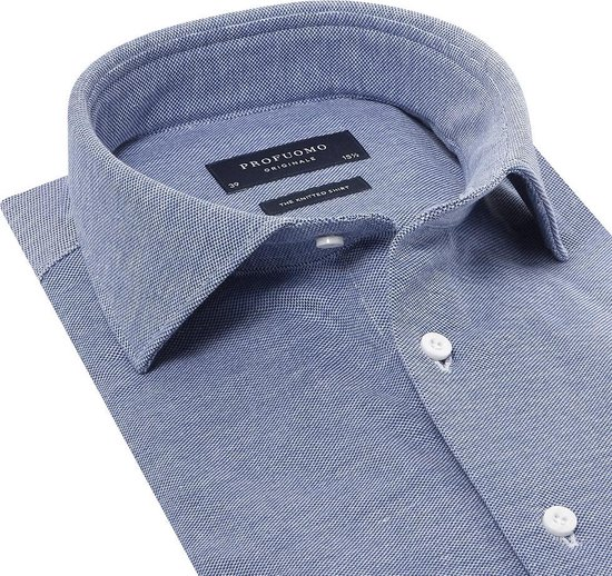 Profuomo Strak Getailleerd Heren Overhemd L