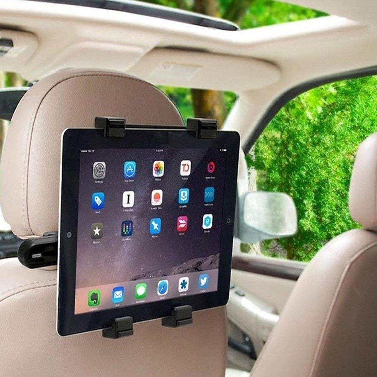 Auto Hoofdsteun Houder voor alle 7-11 inch Tablets