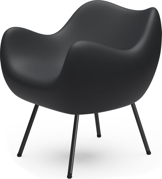 Design Fauteuil / Stoel RM58 MAT - Zwart