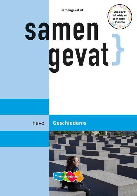Boek cover Samengevat Havo Geschiedenis van  (Paperback)