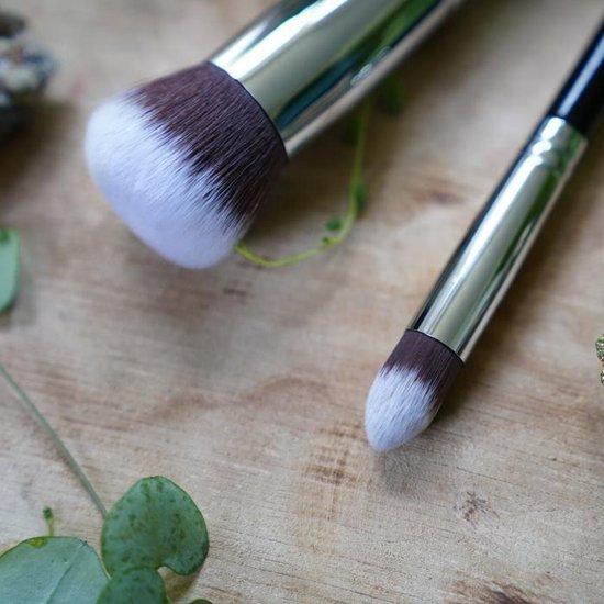 Creative Cosmetics | Groene Concealer Kwast  Zwart